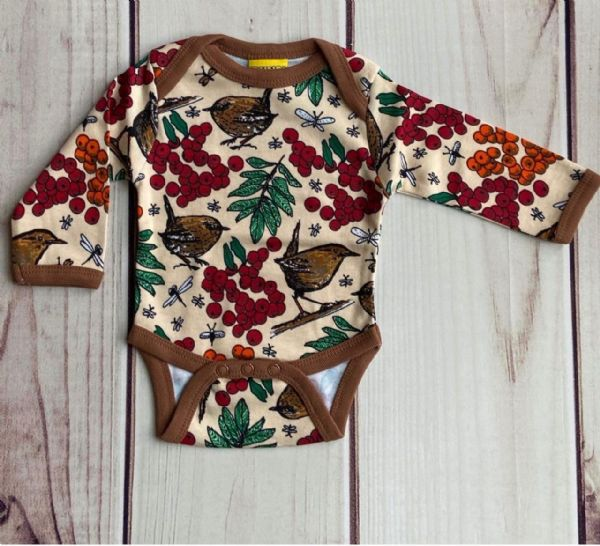 Duns Long Sleeve Body Rowanberry Mother of Pearl